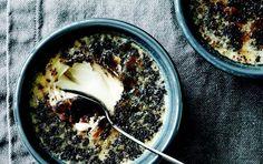 Crème brûlée med rålakrids