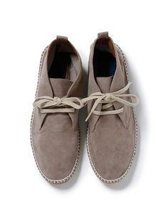 drifter chukka shoes / nonnative