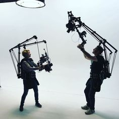 What do you think of this contraption?Anti-gravity cam setups | Photo by @fullframedigital Camera Gear, Film Camera, Anti Gravity, Camera Equipment, Photo Studio, Photography Gear, Lenses, Gears, Instagram Posts