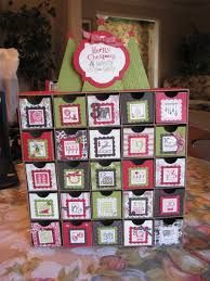 Image result for stampin up advent calendar instructions
