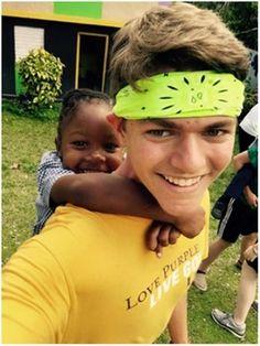 Brady Bortka on a recent mission trip to Jamaica with St. Peters UMC, Katy