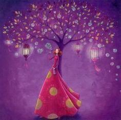 GOLLONG dream tree - Mila Marquis postcard