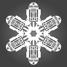 How-To: Star Wars Paper Snowflakes from Matters of Grey #StarWars