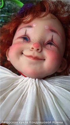 Здравствуйте, девочки! Вчера вечером закончила еще одну авторскую куклу. Мальчик делался на заказ, в пару к Арлекине. Я редко делаю