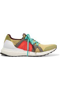 Adidas by Stella McCartney ultra Boost tejer encaje hasta zapatillas de deporte