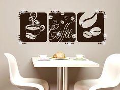 Amazing  Wandtattoo Kaffee Wanddeko mit Swarovski