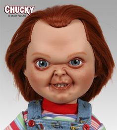 chucky doll | ... and Collectibles: JUST IN! Sideshow Collectibles 14 inch Chucky Doll