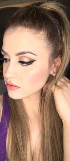 Dramatic eyeliner #makeup