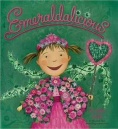 Emeraldalicious (BOOK)--When Pinkalicious and Peter decide to visit their favorite park, they find that it's no longer their favorite place—the park is now filled with stinky trash! So, Pinkalicious decides to make an extra-special wand out of a stick and some flowers. Now whenever Pinkalicious makes a wish, adds a little love, and recites a pinkatastic rhyme, something amazing happens: It's pinkerrific magic! Join Pinkalicious as she turns an ordinary place into an Emeraldalicious world.