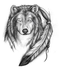 tribal and wolf i like