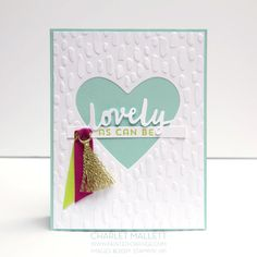 Lovely Inside & Out - GDP093 Charlet Mallett - Stampin' Up!