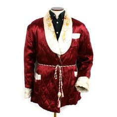 '50s Dragon #Smoking #Jacket for the true #playboy. Where's my pipe?