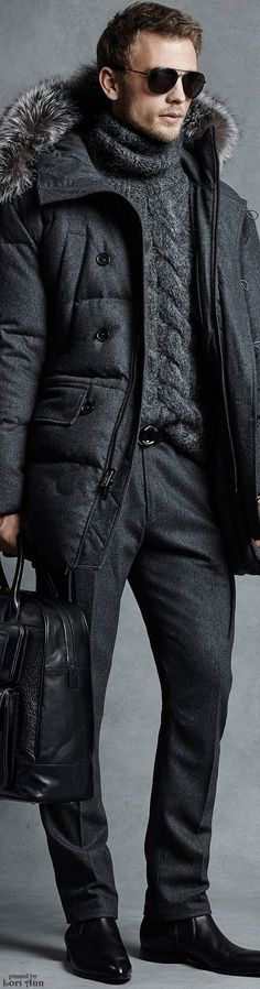 Michael Kors Fall 2015 Menswear | Men's Fashion | Men's Casual Outfit for Fall/winter | Moda Masculina | Shop at designerclothingfans.com