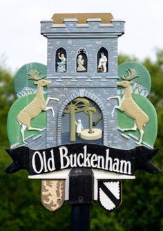 Old Buckenham, Norfolk - village sign