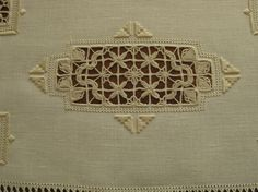Reticello ~ this is the work of one of my very talented students, Giorgia Carlani ~ added by Patricia Girolami to Needle Lace Talk