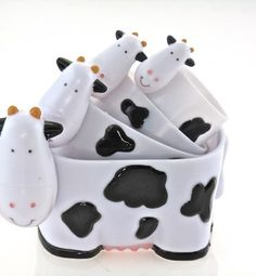 cow measuring cup set - $39.00 on http://genki.com.au