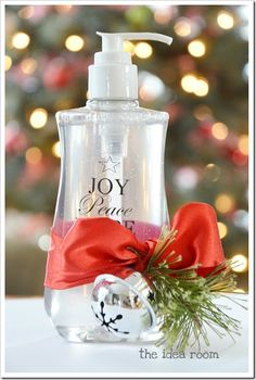 diy Christmas or anytime gift - goo be gone and dial soap- look out friends and neighbors!!!