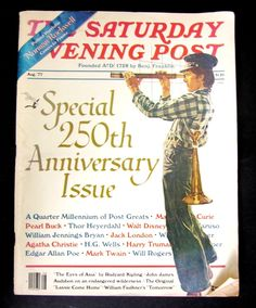 Vintage  Saturday Evening Post - August 1977  Special 250th Anniversary Issue.