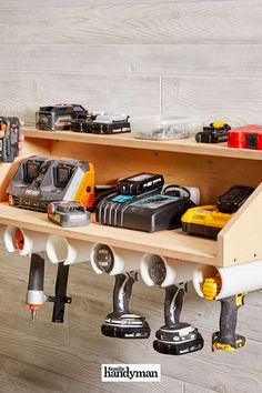 Garage Storage Organization Diy Simple Ideas For 2019 Small Garage Organization, Garage Storage Systems, Wood Storage, Kitchen Organization, Kitchen Storage, Organization Ideas, Workbench Organization, Kitchen Drawers, Kitchen Doors