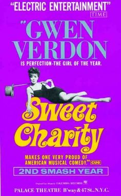 Broadway musicals:  Sweet Charity (1966)