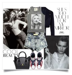 """""""Kate Moss"""" by lushxoxo ❤ liked on Polyvore featuring Rika, TIBI, Eichholtz, ElevenParis and Converse"""