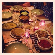 Day #62 - my first taster of delicious Mauritian food...@Selina Periampillai @Selina Periampillai #supperclub in full swing