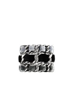 Resin cuff with an enameled cross... - CHANEL