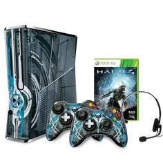 Exclusive Design: This is a Limited Edition, one-of-a-kind console that has been custom designed by the Halo 4 developer, 343 Industries and Xbox 360, specifically for the ultimate Halo fan.