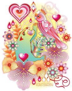 One of the precious illustrations of Catalina Estrada