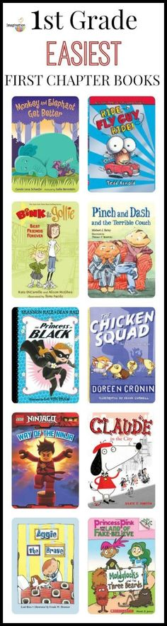 Great first chapter books for first graders!