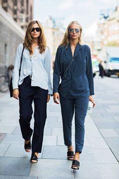 Street Fashion z Tygodnia Mody w Kopenhadze wiosna lato 2016 / Kopenhagen Fashion Week spring summer 2016, fot. Szymon Brzóska dla East News