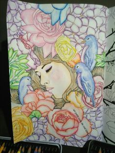 Fleurs de hachette arttherapie