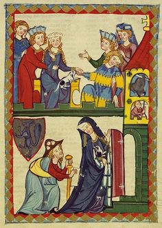 from the Codex Manesse.