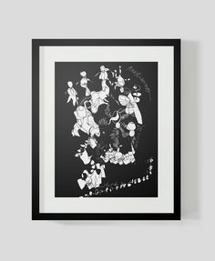 Abstraction that music brings to me 3 by isabelvalfigueira on Etsy, €30.00