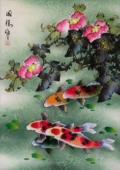 koi fish chinnes gallery