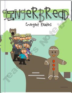 The Gingerbread Man Emergent Readers product from KindergartenWorks on TeachersNotebook.com