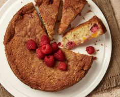A match made in heaven: Yotam Ottolenghi's peach and raspberry recipes