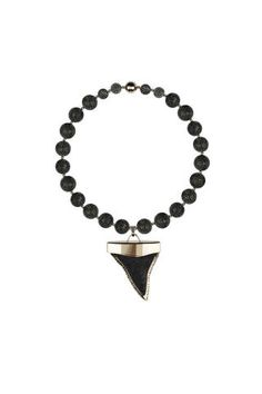 Some kinda fierce: Givenchy's shark tooth necklace