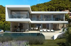 NEW MODERN MALLORCA VILLA IN CALA LLAMP