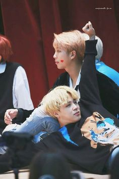 Jimin and Namjoon Namjoon, Rapmon, Hoseok, Foto Bts, Boy Scouts, K Pop, Bts Love, Bts Pictures, Photos