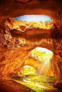 Sunlight, Devetashka Cave, Bulgaria