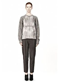 ShopStyle.com: Brushed Mohair And Goat Fur Pullover $1,300.00