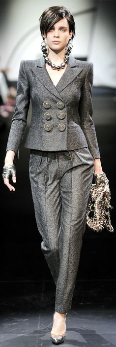 Armani Privé Haute Couture Spring Summer 2010 collection