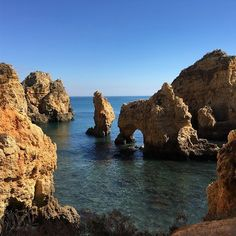 #amazing #cliffs #pontadapiedade #lagos #algarve #portugal #summeriscoming #booknow