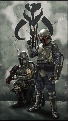 Which Star Wars Armor Would Best Fit You? - Star Wars Mandalorian - Ideas of Star Wars Mandalorian - Star Wars Art. people tell me i look like these guys Star Wars Film, Star Wars Art, Sith, Geeks, Cuadros Star Wars, Chasseur De Primes, Image Digital, Jango Fett, Boba Fett Art