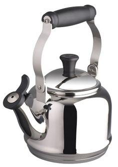 SALE Le Creuset 1.25 Quart Stainless Steel Demi Tea Kettle