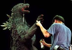 A little touch up for Godzilla.