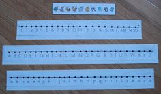 Freebie Friday   Hi Friends! I have a little freebie for you! I made a packet of picture strips, number lines and alphabet strips. This i...