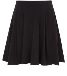 "Inspire. In a versatile black hue, team this skater skirt with a range of looks, from crisp white office blouses, to relaxed floral camis.- Mini length- Fitted waist- Draped style- Elasticated waist- Soft cotton blend- Model is 5'9""/180cmInspire is created for women of size 18 to 28**Selected styles are available up to size 32"