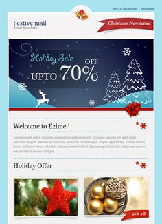 12 of the Best Holiday | Design | Pinterest | Newsletter templates ...